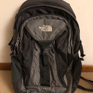 EUC Men's North Face Surge backpack